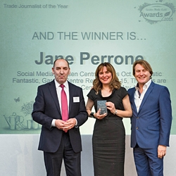 Trade Journalist of the Year 2015