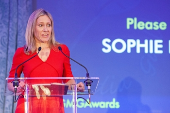 Broadcaster Sophie Raworth, host of the GMG Awards